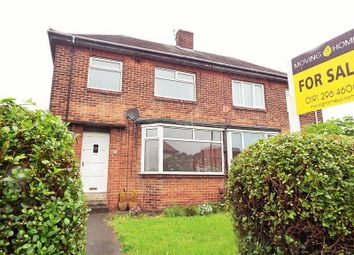 Thumbnail 3 bed semi-detached house for sale in St. Peters Road, Wallsend