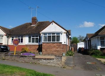 Thumbnail 2 bed semi-detached bungalow for sale in Greenhills Road, Kingsthorpe, Northampton