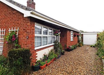 Thumbnail 3 bed bungalow for sale in Hillside Crescent, Wicklewood, Wymondham