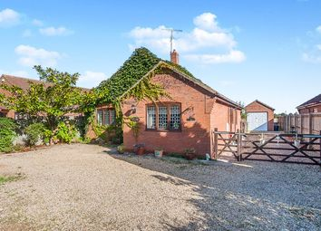 Thumbnail 3 bed detached bungalow for sale in Church Way, Tydd St. Mary, Wisbech