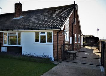 Thumbnail 2 bed semi-detached bungalow for sale in Williamson Road, Lydd On Sea, Romney Marsh