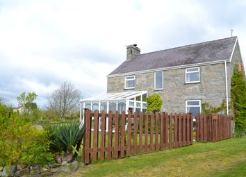 Thumbnail 4 bed detached house for sale in Penrhos, Pwllheli