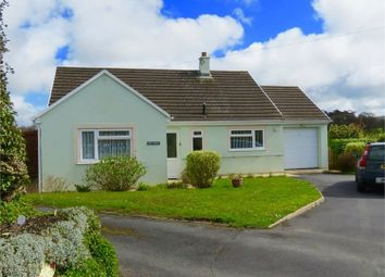 Thumbnail 3 bed detached bungalow for sale in Church Road, Llanarth