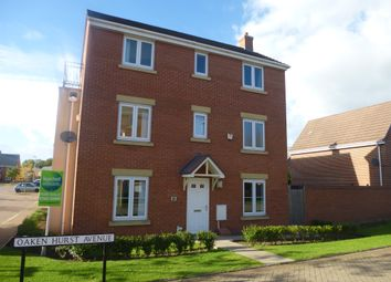 Thumbnail 4 bed detached house for sale in Oaken Hurst Avenue, Hawksyard, Rugeley