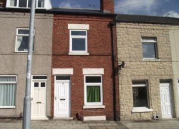 Thumbnail 2 bed terraced house to rent in Beardall Street, Hucknall, Nottingham