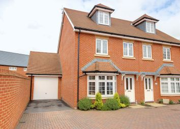 Thumbnail 3 bed semi-detached house for sale in Freemantle Road, Romsey, Hampshire