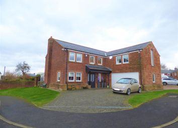 Thumbnail 5 bed detached house for sale in Croft House, Grinsdale, Carlisle