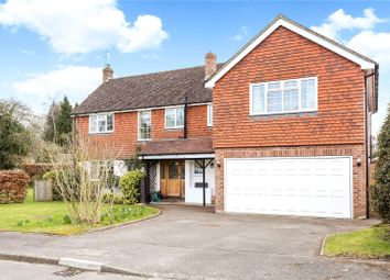 Thumbnail 5 bed detached house for sale in Crabtree Gardens, Headley, Hampshire
