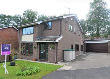 Thumbnail 3 bed detached house for sale in Cauldon Close, Leek, Staffordshire