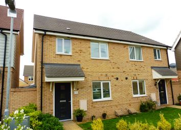 Thumbnail 3 bedroom semi-detached house for sale in Vickers Way, Upper Cambourne, Cambridge