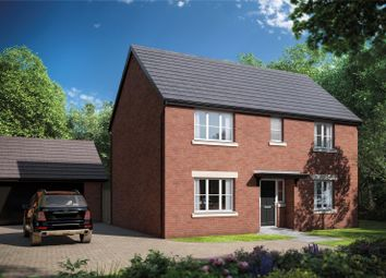 Thumbnail 4 bed detached house for sale in Picklenash Court, Ross Road, Newent, Gloucestershire