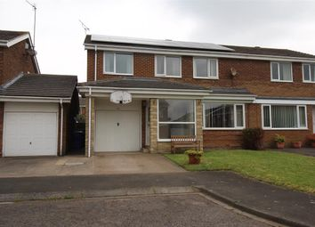 Thumbnail 5 bed semi-detached house for sale in Frome Place, Parkside Dale, Cramlington