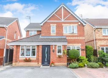 Thumbnail 4 bedroom detached house for sale in Sandywarps, Irlam, Manchester, Greater Manchester