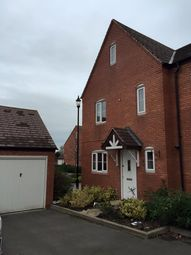 Thumbnail 4 bed semi-detached house to rent in Lime Way, Lichfield