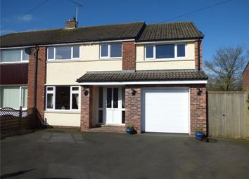 Thumbnail 4 bed semi-detached house for sale in Jackson Road, Houghton, Carlisle
