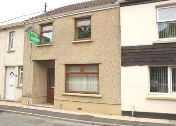 Thumbnail 2 bedroom terraced house for sale in Heol Giedd, Ystradgynlais, Swansea