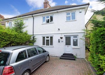 Thumbnail 3 bed semi-detached house for sale in Snelling Avenue, Northfleet, Gravesend, Kent