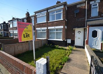 Thumbnail 3 bed terraced house to rent in Dunhill Road, Goole