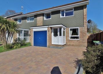 Thumbnail 3 bed semi-detached house for sale in Fairbourne Close, Cowplain, Waterlooville