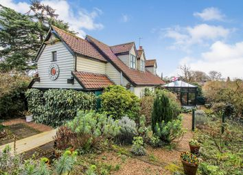 Thumbnail 3 bed detached house for sale in Shotesham Lane, Saxlingham Nethergate, Norwich