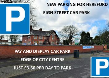 Thumbnail Property to rent in Car Parking Spaces, Hereford, Hereford, Herefordshire