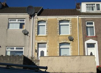 Thumbnail 2 bed terraced house for sale in North Hill Road, Mount Pleasant, Swansea.