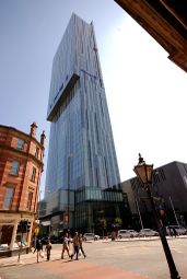 Thumbnail 2 bedroom flat to rent in Beetham Tower, Manchester