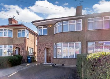 Thumbnail 3 bed semi-detached house for sale in Arundel Drive, Harrow, Middlesex