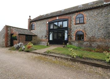 Thumbnail 6 bedroom semi-detached house for sale in The Granary, Church Street, Northrepps, Cromer, Norfolk