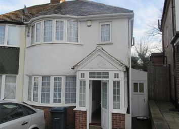 Thumbnail 3 bed semi-detached house to rent in Marsham Road, Kings Heath, Birmingham