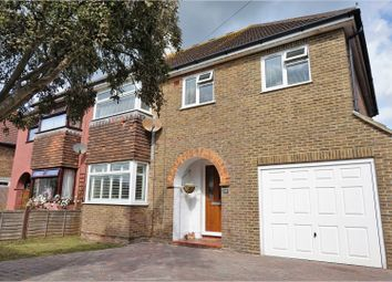 Thumbnail 4 bed semi-detached house for sale in Albert Road, Rustington