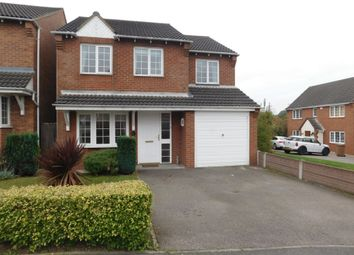 Thumbnail 4 bed detached house for sale in Hunt Way, Swadlincote