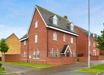 Thumbnail 5 bed detached house for sale in Ashmead Road, Bedford
