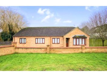 Thumbnail 4 bed detached bungalow for sale in Spencer Drove, Wisbech