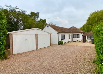 Thumbnail 3 bed detached bungalow for sale in Station Road, Thurnby, Leicester