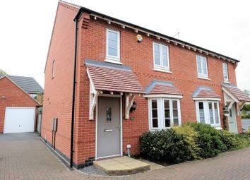 Thumbnail 3 bed semi-detached house for sale in Lockwood Road, Barrow Upon Soar, Loughborough
