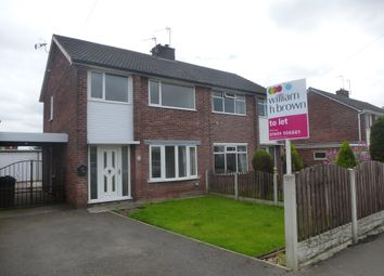 Thumbnail 3 bed property to rent in Northfield Drive, Woodsetts, Worksop
