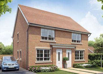 "Thumbnail 2 bed semi-detached house for sale in ""Kendal"" at Tenth Avenue, Morpeth"