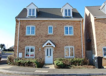 Thumbnail 4 bed detached house to rent in Portmarnock Way, Grantham