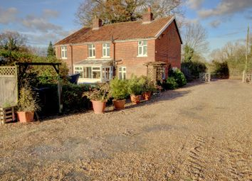 Thumbnail 4 bed detached house for sale in Shelton, Norwich
