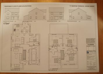 Thumbnail 4 bed detached house for sale in Tynewydd Terrace, Cross Hands, Llanelli