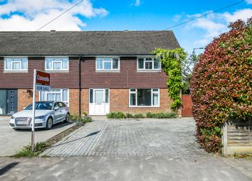 Thumbnail 3 bed end terrace house for sale in Bletchingley Close, Merstham, Redhill