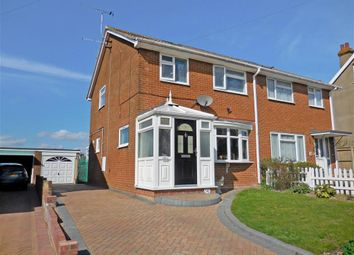 Thumbnail 3 bed semi-detached house for sale in Sydney Road, Walmer, Deal, Kent
