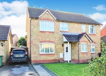 Thumbnail 3 bed semi-detached house for sale in Moor King Close, St Mellons, Cardiff