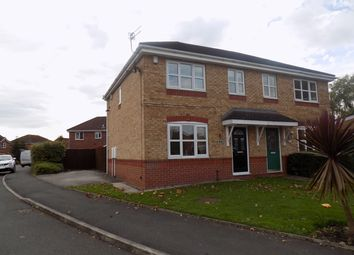 Thumbnail 3 bed semi-detached house for sale in Pasturegreen Way, Irlam, Manchester
