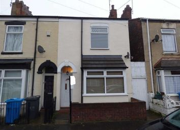 Thumbnail 2 bed end terrace house for sale in Severn Street, Hull, East Yorkshire