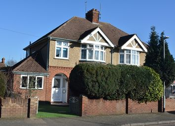 Thumbnail 3 bed semi-detached house to rent in Park Road, Kempston, Bedford
