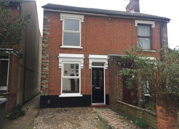 Thumbnail 2 bed semi-detached house to rent in Upper Cavendish Street, Ipswich
