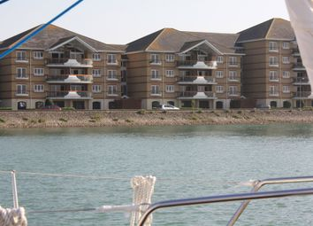 Thumbnail 2 bed flat for sale in Genoa House, Lock Approach, Port Solent