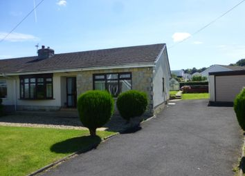 Thumbnail 3 bed semi-detached bungalow to rent in St. Annes Avenue, Cwmffrwd, Carmarthen